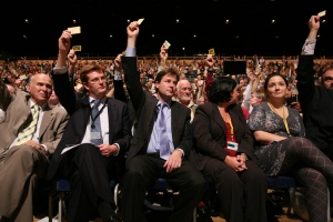 nick_clegg_danny_alexander_and_vince_cable_vote_for_the_make_it_happen_resolution